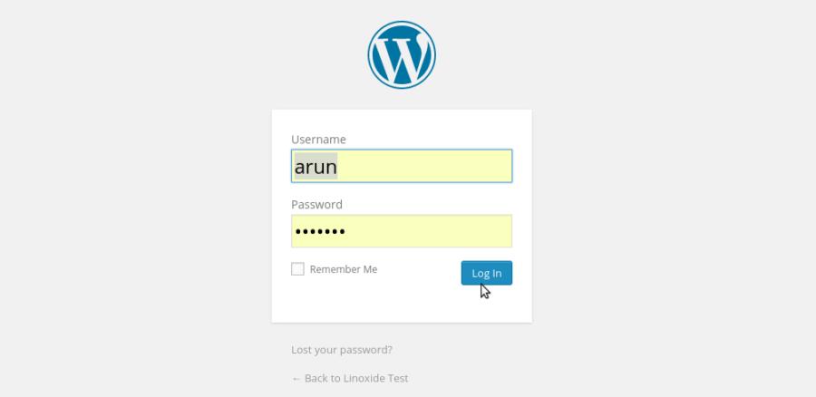 美化WordPress后台登陆页面