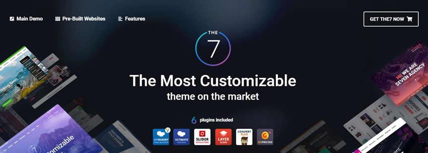 The7 高级版v8.7.2已汉化 - WordPress多用途主题