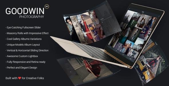 GoodWin - 摄影相册产品展示WordPress汉化主题